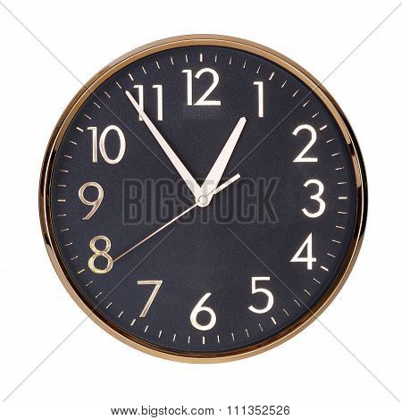 Almost An Hour On The Clock Face