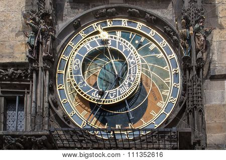Astronomical Clock - Orloj In Prague