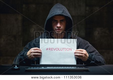 Young Hacker And Cyber Revolution