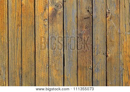 Close Boarded Fence Loosing Paint