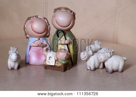 Jesus Birth Scene