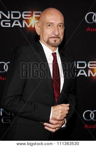 Sir Ben Kingsley at the Los Angeles Premiere of