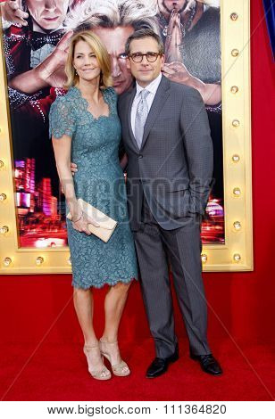 Steve Carell and Nancy Carell at the Los Angeles Premiere of