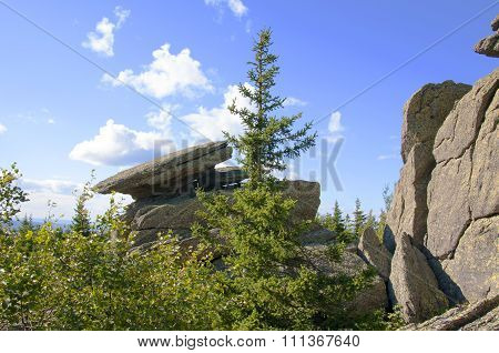 Rock Cap. Taganay. Southern Urals-2
