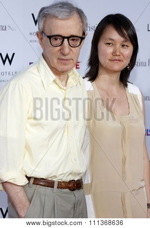 04/08/2008 - Westwood - Woody Allen at the Los Angeles Premiere of