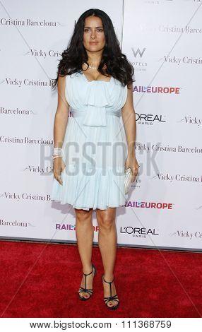04/08/2008 - Westwood - Salma Hayek at the Los Angeles Premiere of