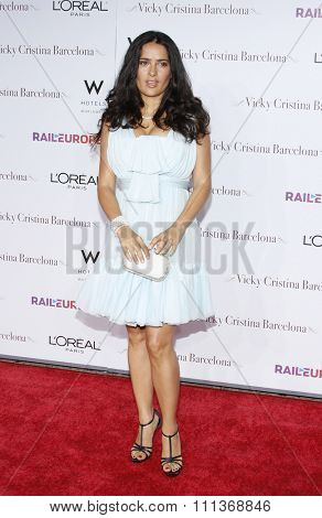 Salma Hayek at the Los Angeles Premiere of
