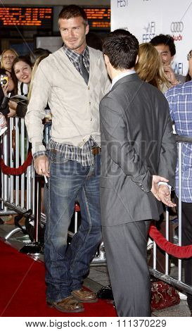 David Beckham attends the AFI Fest Opening Night Gala Premiere of
