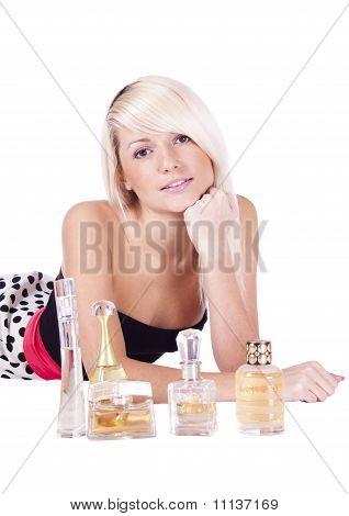 Girl. Spirits. Cosmetics