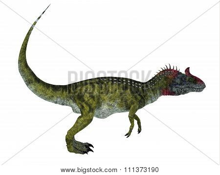 Cryolophosaurus Side Profile