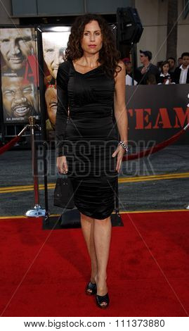 Minnie Driver at the World Premiere of