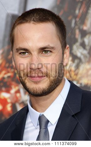 LOS ANGELES, USA - MAY 10: Taylor Kitsch at the Los Angeles premiere of