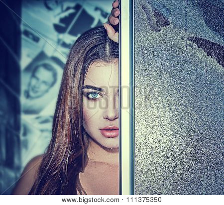 Sexual Woman In The Shower