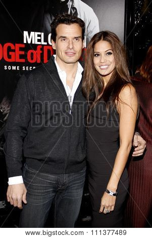 HOLLYWOOD, CALIFORNIA - Tuesday January 26, 2010. Antonio Sabato Jr. at the Los Angeles premiere of