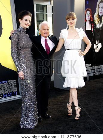 Eva Green and Bella Heathcote at the Los Angeles premiere of