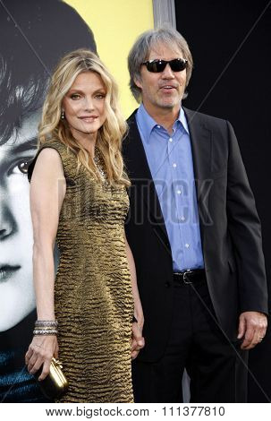 Michelle Pfeiffer and David E. Kelley at the Los Angeles premiere of