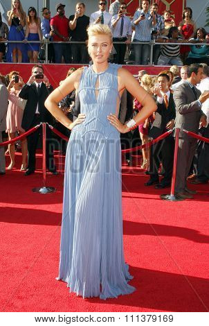 Maria Sharapova at the 2012 ESPY Awards held at the Nokia Theatre L.A. Live in Los Angeles, United States, 11/07/12.