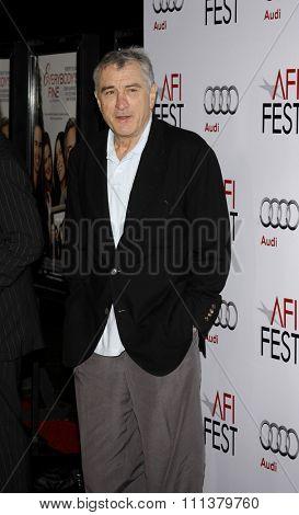 03/11/2009 - Hollywood - Robert De Niro at the AFI FEST 2009 Screening of