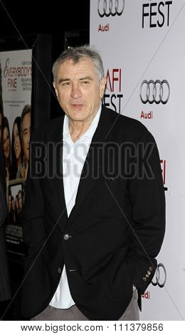 Robert De Niro at the AFI FEST 2009 Screening of