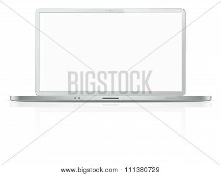 Steel Laptop.