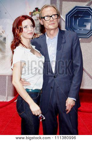 19/7/2009 - Hollywood - Kelli Garner and Bill Nighy at the Disney World Premiere of