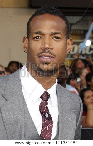 Marlon Wayans at the Los Angeles Premiere of