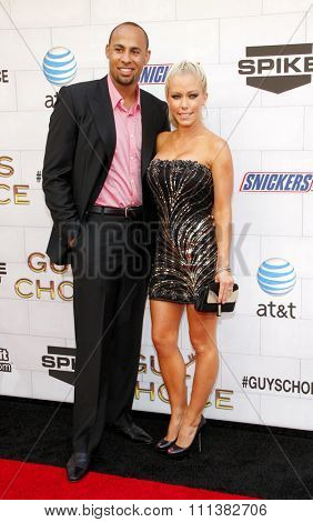 LOS ANGELES, USA - JUNE 2: Kendra Wilkinson and Hank Baskett at the Spike TV's 6th Annual