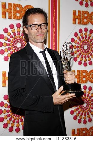 LOS ANGELES, USA - SEPTEMBER 18: Guy Pearce at the HBO's 2011 Emmy After Party held at the Pacific Design Center in West Hollywood, USA on September 18, 2010.