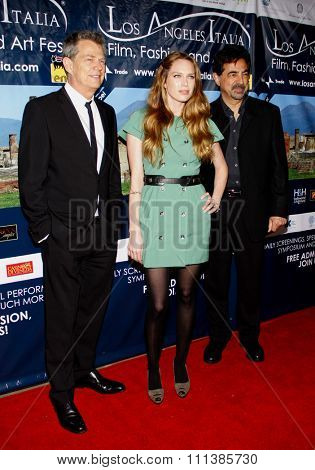 David Foster, Erin Foster and Joe Mantegna at the Los Angeles Premiere of