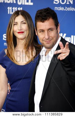 LOS ANGELES, USA - NOVEMBER 6: Adam Sandler and Jackie Sandler at the World Premiere Of