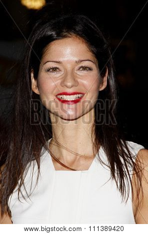 HOLLYWOOD, USA - JANUARY 25: Jill Hennessy at the HBO's Los Angeles Premiere of