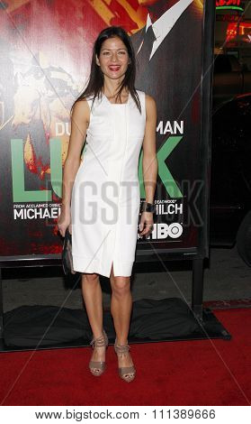 Jill Hennessy at the HBO's Los Angeles Premiere of