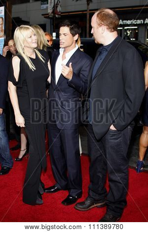 Rob Lowe and Louis C.K. at the Los Angeles Premiere of