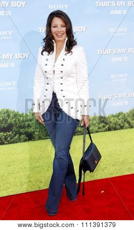 LOS ANGELES, USA - JUNE 4: Fran Drescher at the Los Angeles premiere of