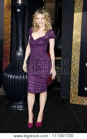 HOLLYWOOD, USA - DECEMBER 5: Michelle Pfeiffer at the Los Angeles Premiere of