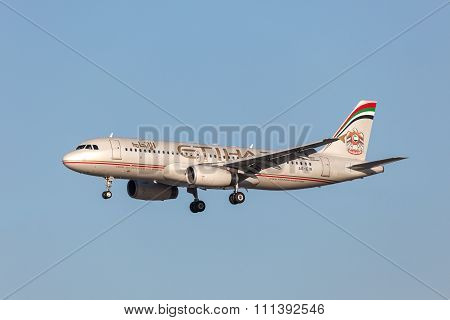 Etihad Airways Airbus A320-232