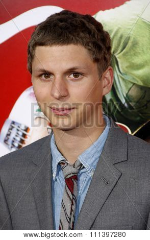 HOLLYWOOD, CALIFORNIA - Sunday July 27, 2010. Michael Cera at the Los Angeles premiere of