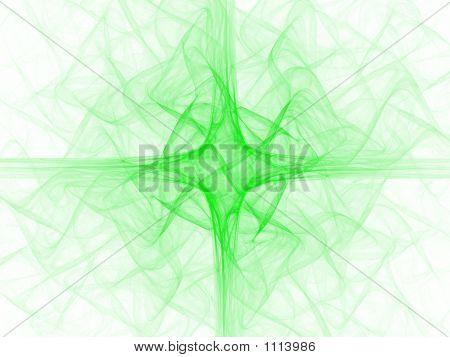 Green Liturgical Cross