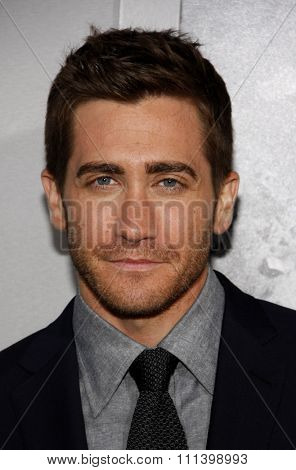 HOLLYWOOD, CALIFORNIA - Monday March 28, 2011. Jake Gyllenhaal at the Los Angeles premiere of