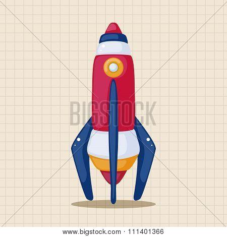 Spaceship Theme Elements