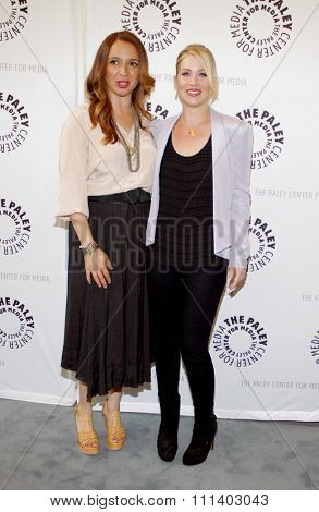 Christina Applegate and Maya Rudolph at the Paley Center For Media Presents An Evening With