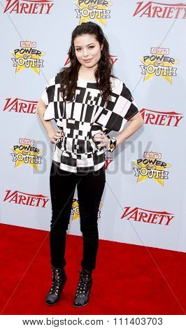 05/12/2009 - Hollywood - Miranda Cosgrove at the Variety's 3rd Annual Power of Youth Event held at the Paramount Pictures Studios in Hollywood, California, United States.