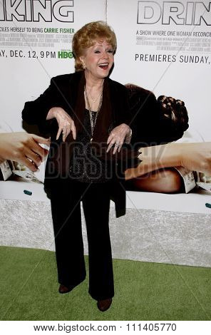 HOLLYWOOD, CALIFORNIA - Tuesday December 7, 2010. Debbie Reynolds at the Los Angeles premiere of