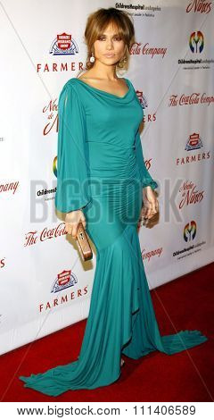 9/5/2009 - Beverly Hills - Jennifer Lopez at the 2009 Noche De Ninos Gala held at the Beverly Hilton Hotel in Beverly Hills, United States.