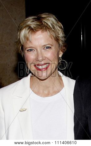 Annette Bening at the 2009 Noche De Ninos Gala held at the Beverly Hilton Hotel in Beverly Hills, California, United States on May 9, 2009.