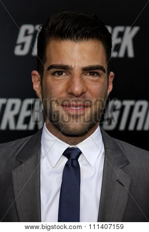 30/4/2009 - Hollywood - Zachary Quinto at the Los Angeles Premiere of