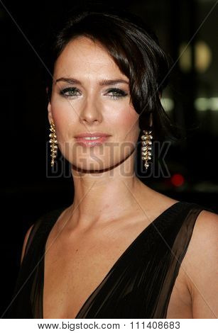 Lena Headey attends the Los Angeles Premiere of