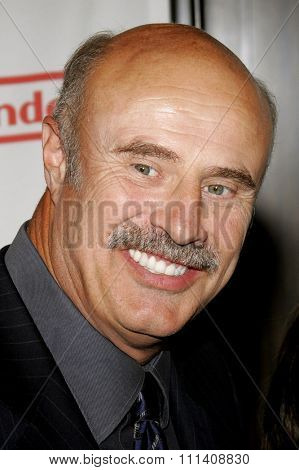 Dr. Phil McGraw attends the 2007 Starlight Starbright Children's Foundation Gala held at the Beverly Hilton Hotel in Beverly Hills, California on March 23, 2007.