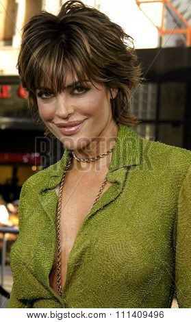 Lisa Rinna attends the Los Angeles Premiere of