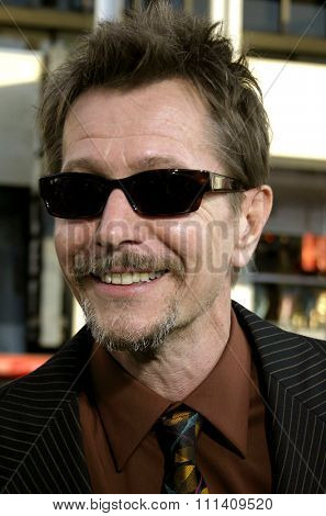 Gary Oldman attends the Los Angeles Premiere of